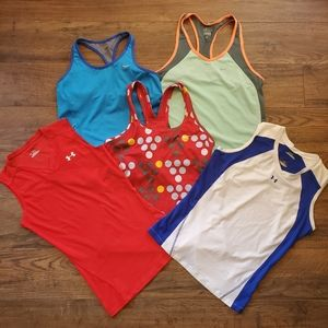 Nike/Under Armour Women's Workout Tops Bundle